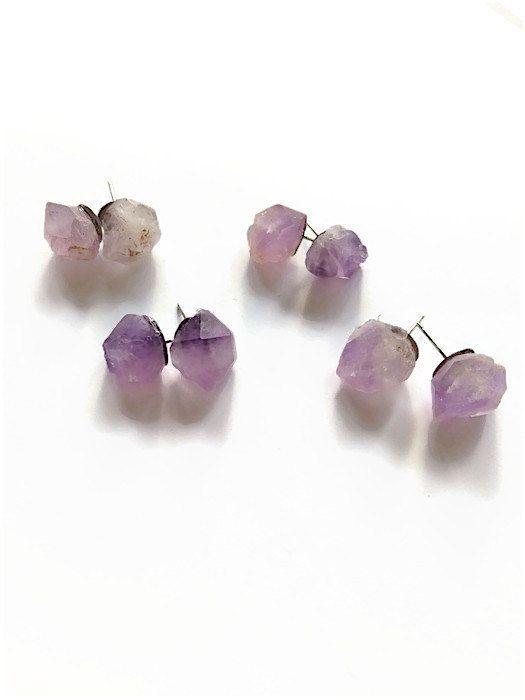 1000 ideas about amethyst earrings on pinterest