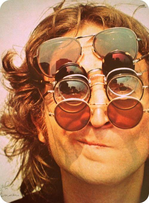 John Lennon Sunglasses   #sunglasses #music #musician #john #lennon  www.anysunglasses.com www.pinterest.com/anysunglasses