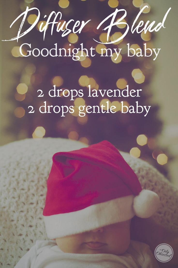 Get your Christmas Angel to sleep with this blend of Young Living essential oils. | lavender abs gentle baby #LavenderEssentialOil