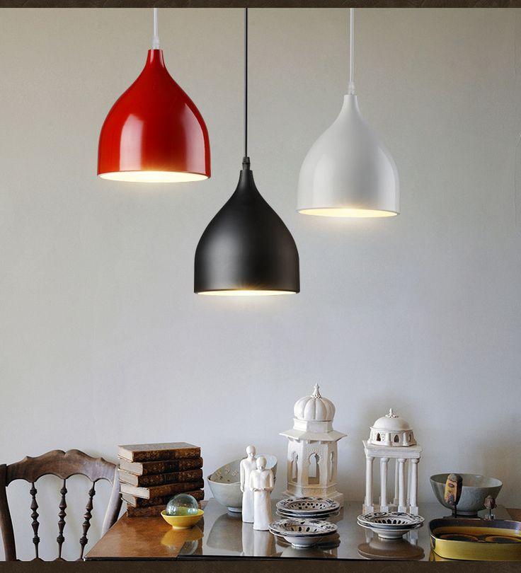 $29  https://www.aliexpress.com/item/Modern-Color-Pendant-Lights-E27-Holder-AC90-260V-Aluminum-Black-White-Red-Single-Head-Dining-room/32702485490.html?spm=2114.30010308.3.393.YJj78S