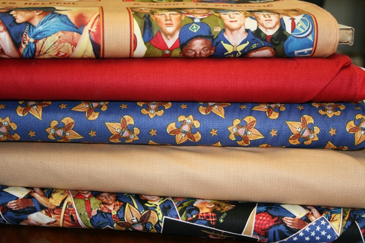 1000 Images About Scouts On Pinterest Cotton Fabric