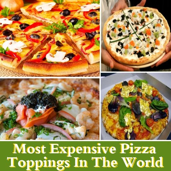 Most expensive pizza