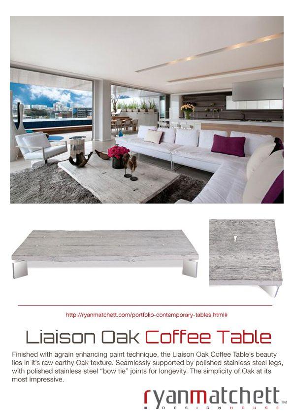 Liaison Oak Coffee Table