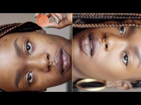 How to Perfect Dark Skin | Natural Color Correction - YouTube