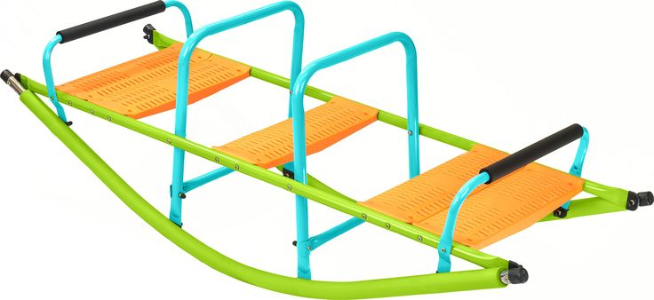 Pure Fun Home Playground Equipment: Rocker Seesaw, Youth Ages 4 to 10