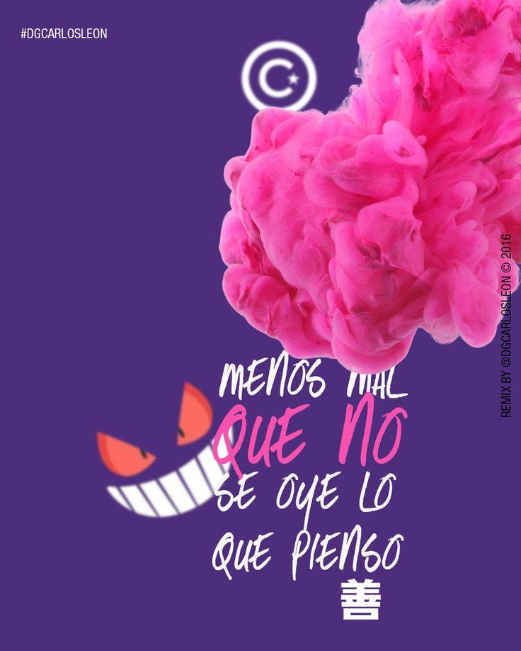 MENOS MAL que no se oye lo que pienso  Aquí hacemos gráficas tus ideas (Here we charts your ideas).-  DG CARLOS LEÓN  . Agencia Online de Diseño & Publicidad  2016  GRACIAS MAMÁ por hacer de mi el hombre que soy.  #anaco #dgcarlosleon #lecherias #publicidad #marketing #unsplash #me #instamood #girl #ptolacruz #fashion #caracas #follow #follome #pokemon #life #live #disney #stopwars #makeday #marvel #love #diarioideal #pokemongo #madewithunsplash  Recomiendo: @gabrieldejesusf…