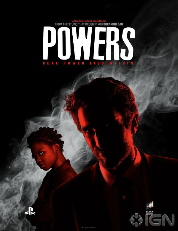 Brian Bendis and the PlayStation team, as well as the stars of Powers came to New York Comic Con for a first look at the series.