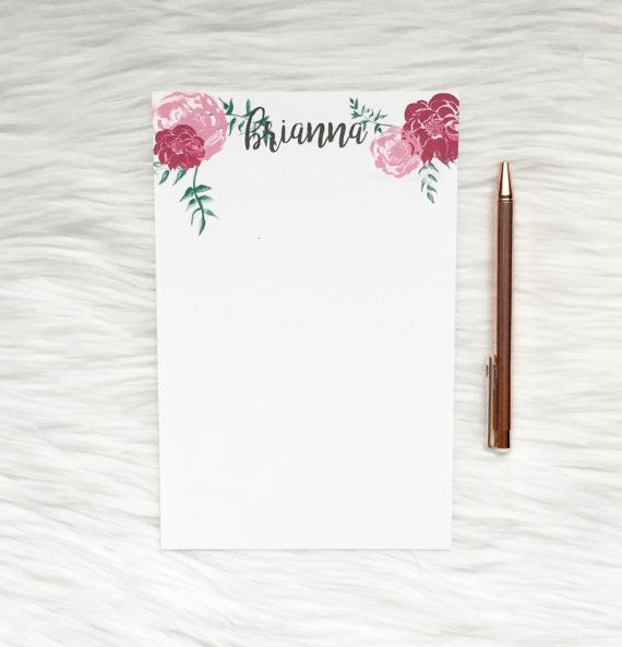 Best 25+ Custom notepads ideas on Pinterest Photo to canvas - notepad template for word