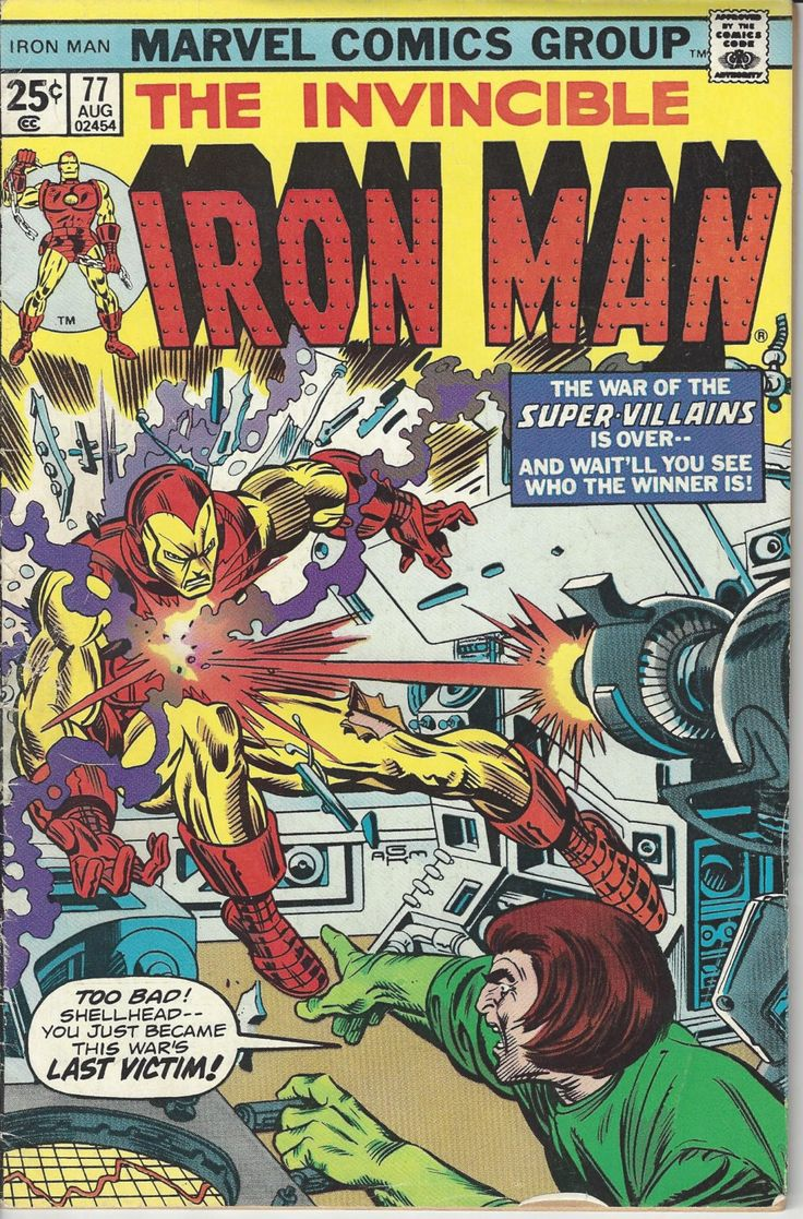 Vintage Marvel The Invincible Iron Man Comic Book #77 by FloridaFindersPaper on Etsy