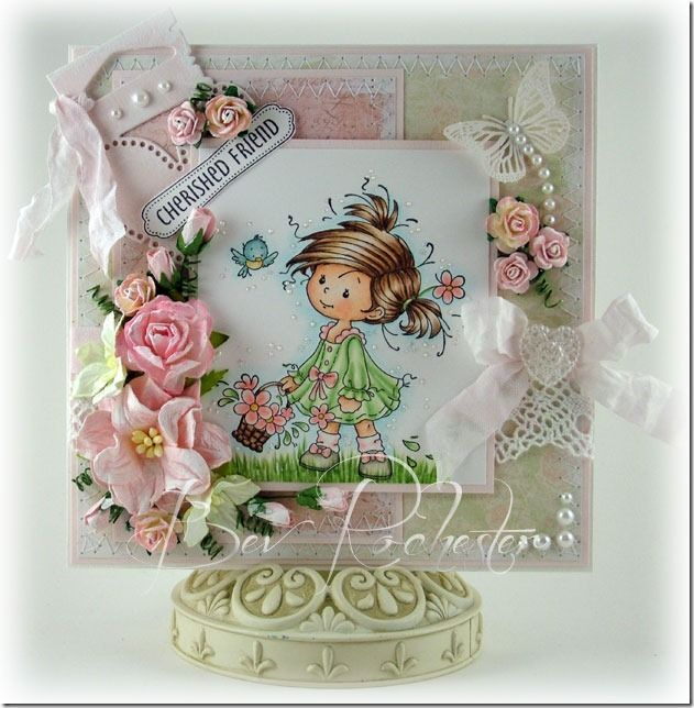 Bev Rochester - Whimsy Stamp Peggy