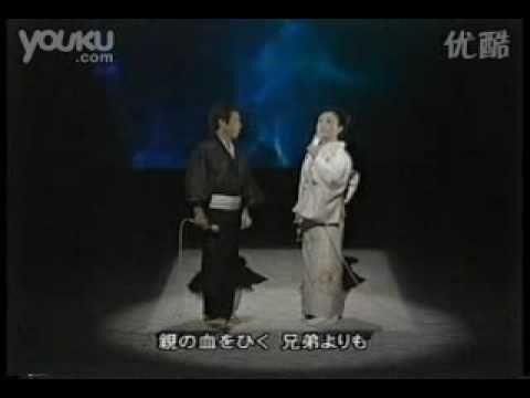 日本演歌界泰斗北島三郎和美空ひばり合唱《兄弟仁義》 Misora Hibari and Mori san