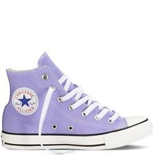 Lilac Light Purple High Top Converse Chuck Taylor All Stars Womens 8 Mens 6