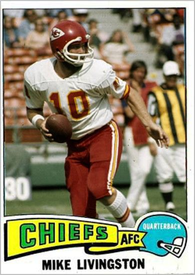 Mike Livingston Kansas City Chiefs