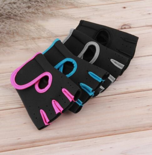 [Visit to Buy] DSGS Men & Women Glove Fitness Training Exercise Body Building Workout Weight Lifting Gloves Half Finger #Advertisement