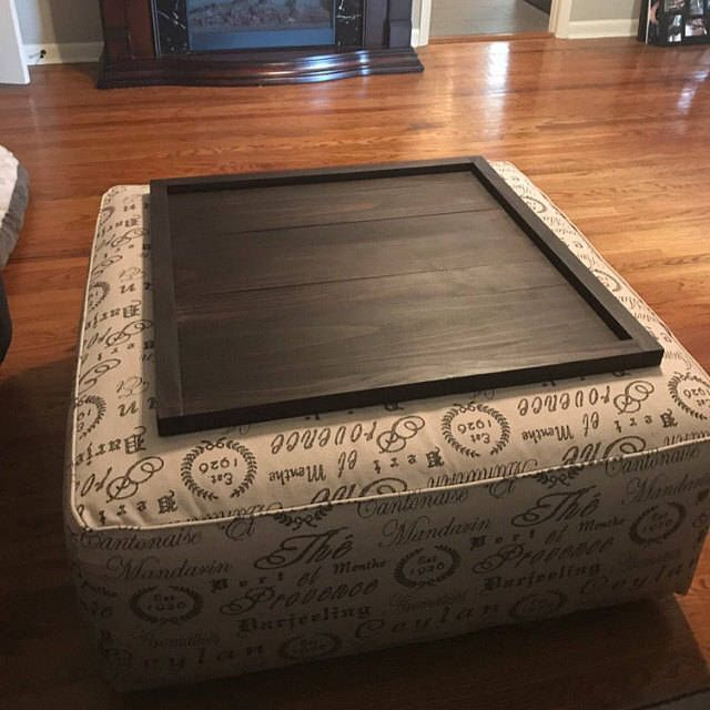 best 25 ottoman tray ideas on pinterest coffee table. Black Bedroom Furniture Sets. Home Design Ideas