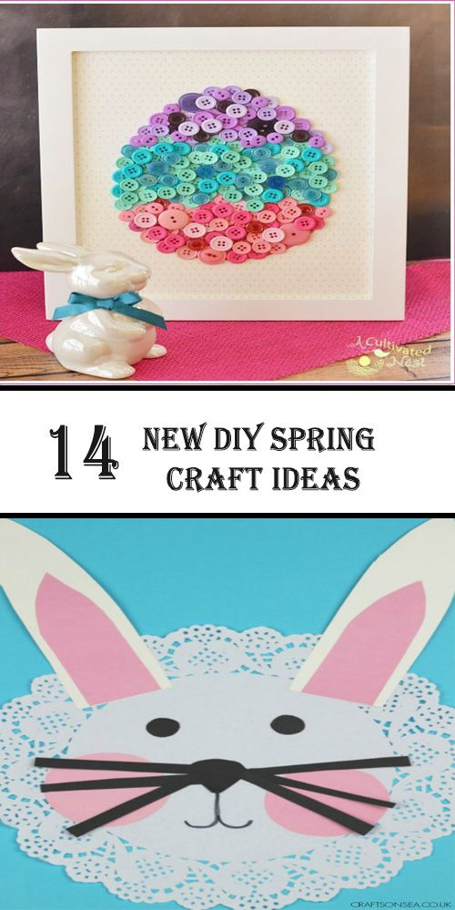14 New Spring Craft Ideas Diy And Crafts Spring Crafts Crafts