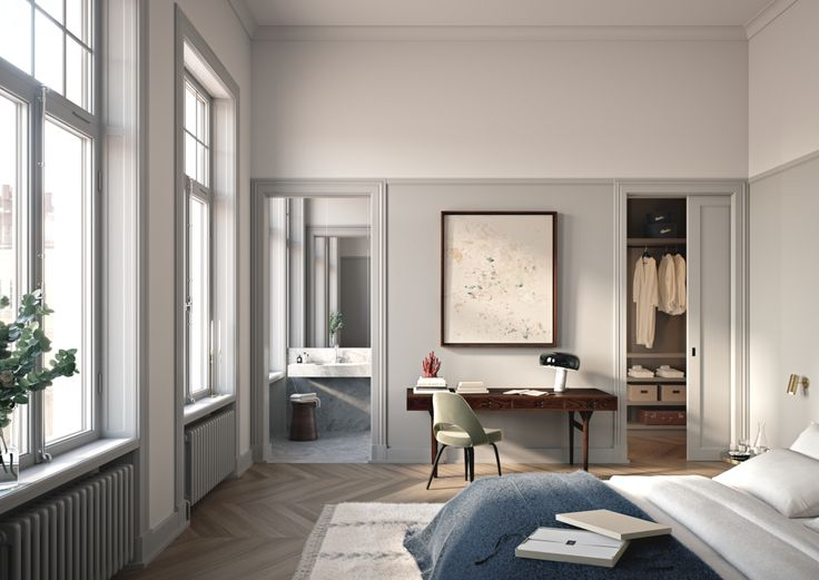 nordic, design, bedroom, windows, carpet, #oscarproperties