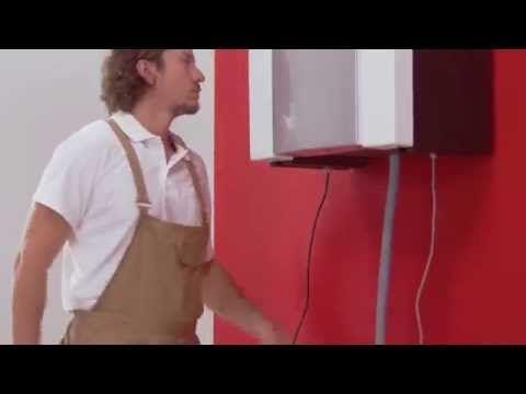 Installation VMC Double flux DOMEO (filaire) - Unelvent - e-Novelec.fr - YouTube