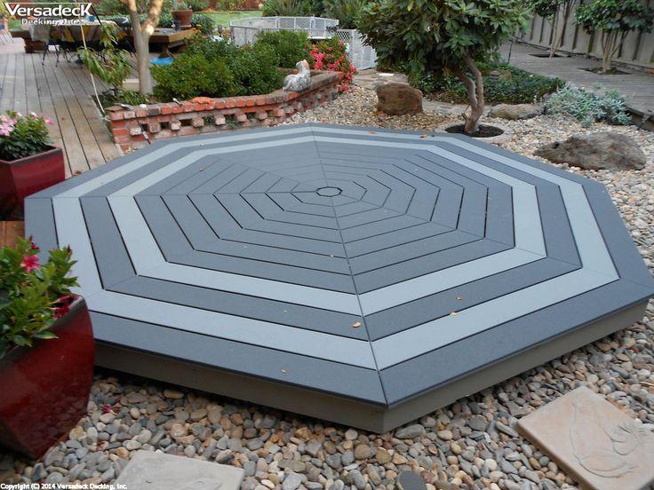 octagon deck   Aluminum Deck Photos - Aluminum Decks, Deck Kits and ...