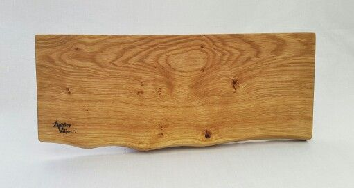 French Oak Mezze Board with a natural edge. A unique center piece and pefect for sharing your favourite cheese or tapas.