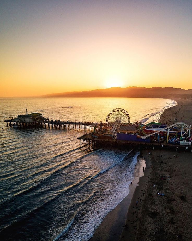 Santa Monica Pier California by santamonicaboardwalk by CaliforniaFeelings.com california cali LA CA SF SanDiego