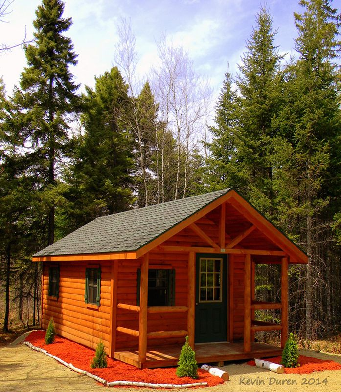 Log+Home+Storage+Shed June 2014 Photo Contest Winner