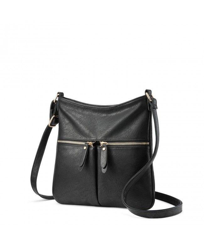 dd78b90cc7 Crossbody Purses for Women Multi Pocket Lightweight - Black - C918E8Y6MIT,Women's  Bags, Crossbody Bags #Bags #Handbags #crossbodybags #style #gifts