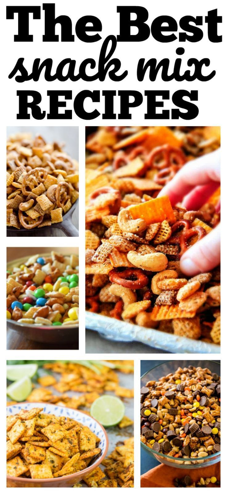 The Best Snack Mix Recipes   Snack Mixes   Snack mix recipes