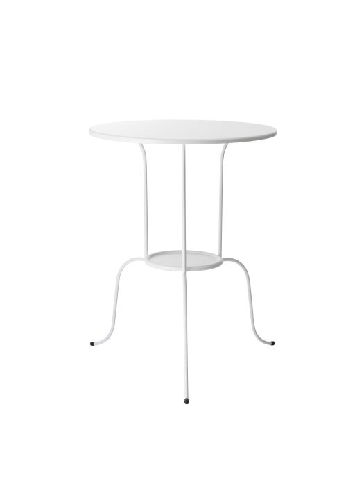 LINDVED side table #IKEA #PinToWin // Dip the legs in gold leaf or gold spray paint and use a nightstand!