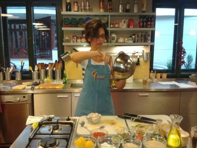 @Chefparade cooking school, Budapest Our sicilian menu
