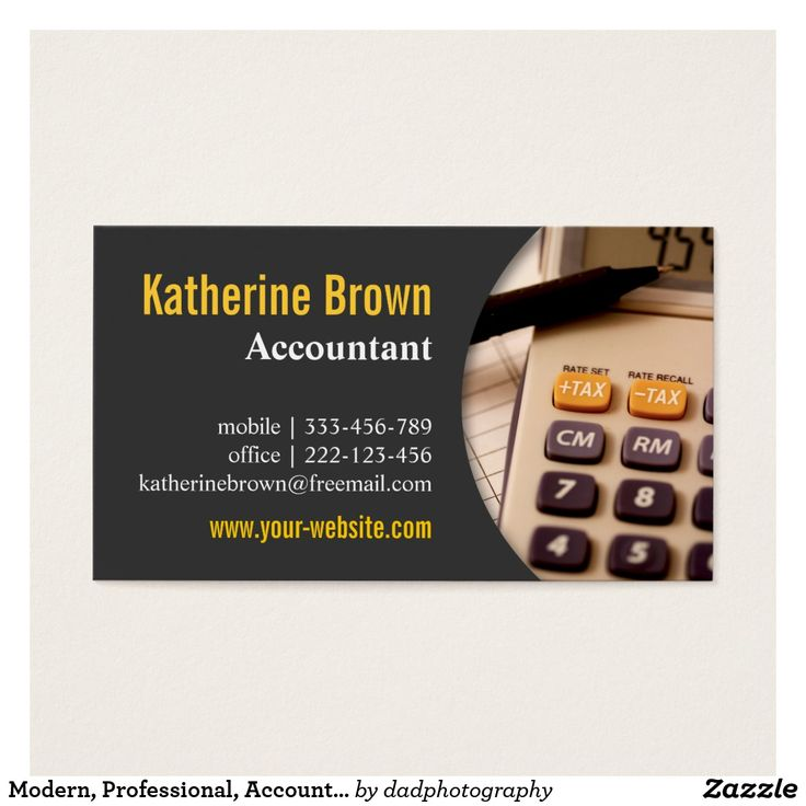 10 best name card images on Pinterest | Bookkeeping business ...
