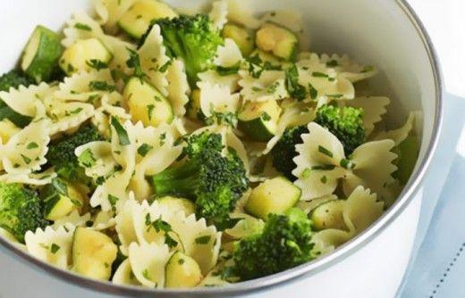 Courgette, Broccoli and Gremolata Pasta