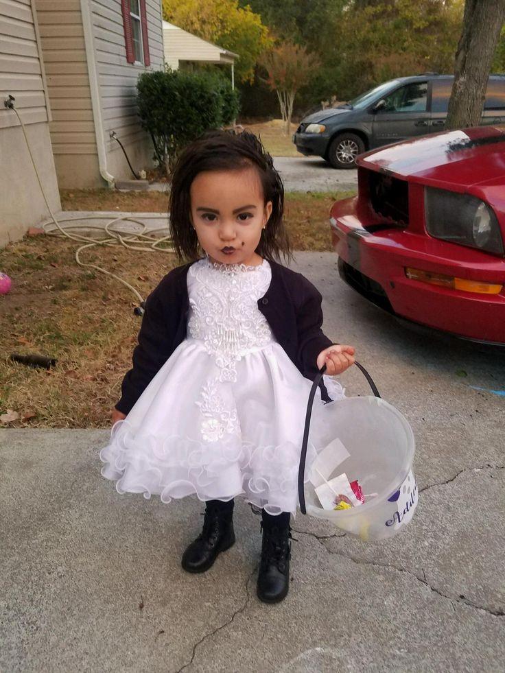 toddler bride of chucky costume diy
