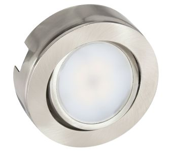 LED puck lights from American lighting offer an adjustable center!