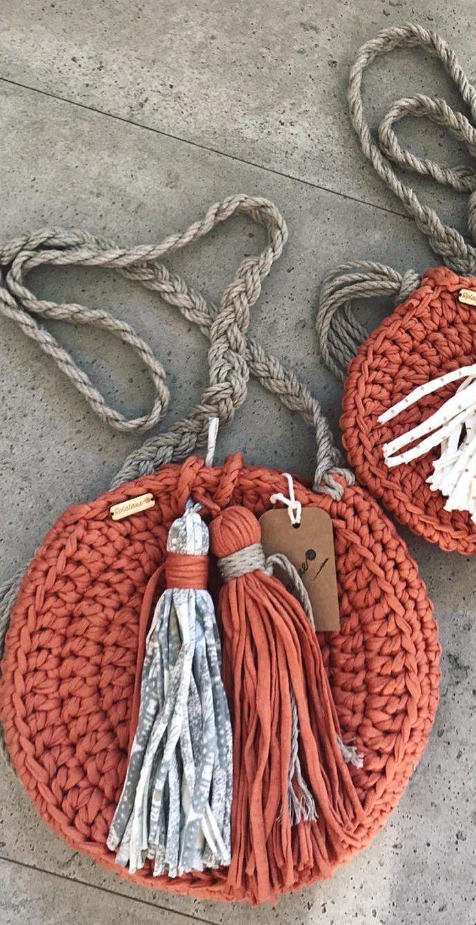 Más de 35 patrones de bolsas de ganchillo gratis, puedes hacer bolsas fabulosas en 3 días Nuevo 2019 - Página 29 de 36