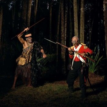 Greg Semu.  The Battle of the Noble Savage 2007   Two Rooms