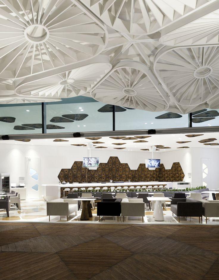Best Interior Restaurant Images On Pinterest Bar Designs - Bar design tribe hyperclub by paolo viera