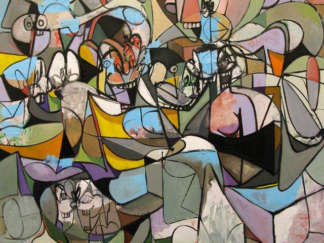 George Condo, 'Reclining Blue Form,' 2011, Simon Lee Gallery