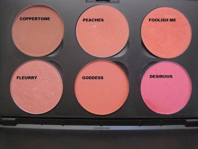 MAC blush...peaches and coppertone