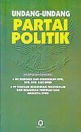 TOKO BUKU RAHMA: UNDANG-UNDANG PARTAI POLITIK