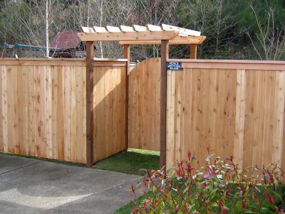 1000 Images About Cedar Fence Design On Pinterest Fence