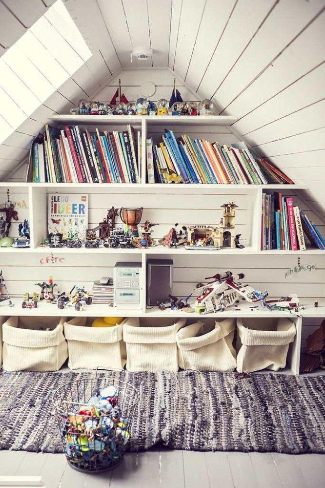 Des idées intéressantes pour ranger les livres de vos enfants