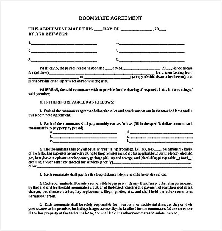 Best 10+ Roommate Agreement Ideas On Pinterest | College Roommate