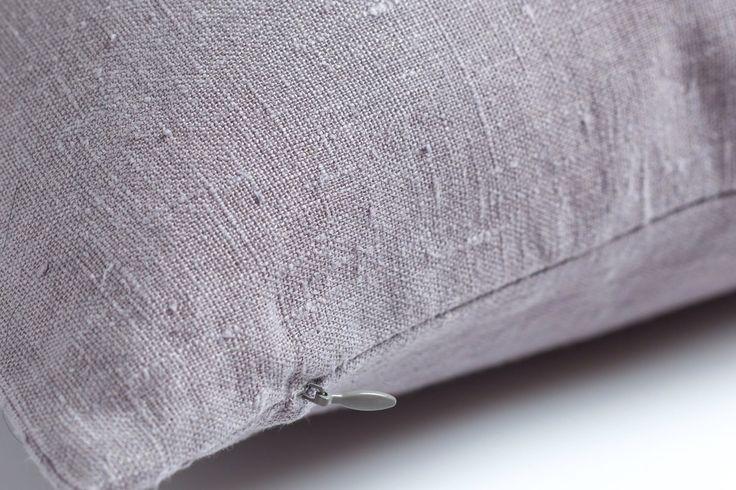Light grey linen pillow / stonewashed linen pillow / decorative linen pillow / luxury linen pillow / grey linen pillow /rustic linen cushion by LUMODECO on Etsy https://www.etsy.com/listing/490583574/light-grey-linen-pillow-stonewashed