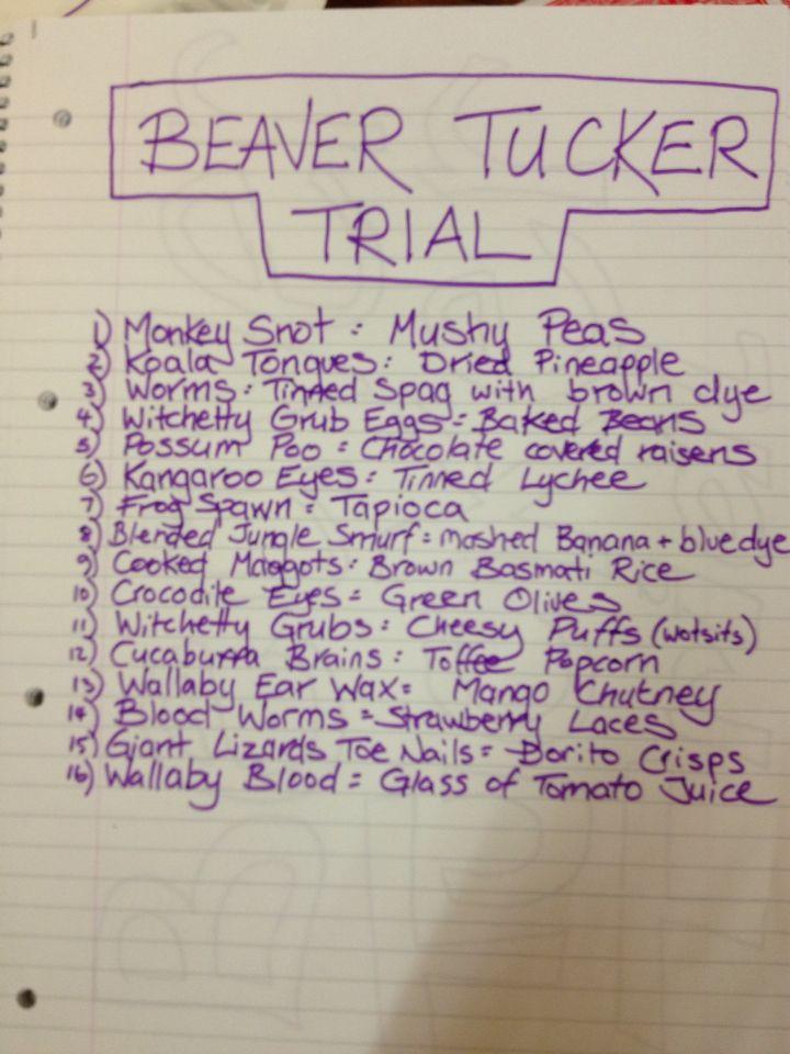 Bushtucker Trial