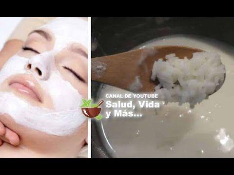 Agua De Arroz Para Limpiar, Aclarar La Piel Y Reducir El Tamaño De Los Poros De La Cara! - YouTube