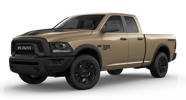 If You Re Looking For A Vintage Look In A Distinct Color Check Out The 2019 Ram 1500 Classic Warlock Mojave Sand Package Ram 1500 2019 Ram 1500 Power Wagon