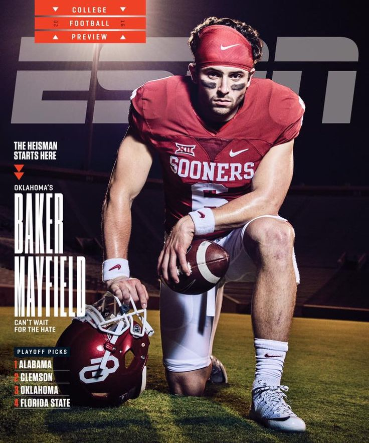Baker Mayfield on Cover of ESPN Magazine