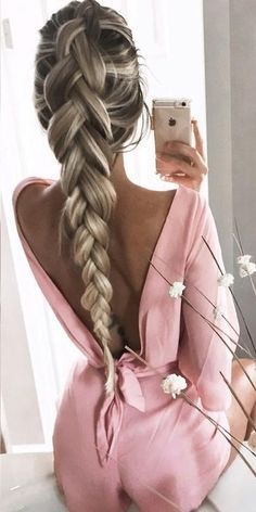 Pink Low Back Playsuit                                                                             Source