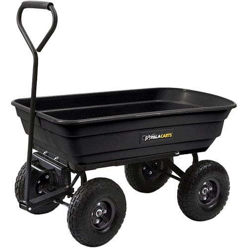 Bid farewell to your old wheelbarrows and utility carts, and bring home the Gorilla Carts 600-pound Garden Cart to haul debris from your garden effortlessly. The Gorilla Carts 600-pound capacity garden dump card is the perfect tool for any homeowner, gardener or lawn and garden enthusiast. It is a great alternative to wheelbarrows and traditional utility carts. This dump cart includes a fast relea * Continue to the product at the image link.